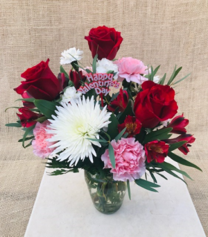 Lasting Love Fresh Vase Arrangement in Coleman, WI | COLEMAN FLORAL & GREENHOUSES