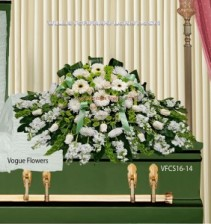 Lasting Memories Sympathy Casket Spray