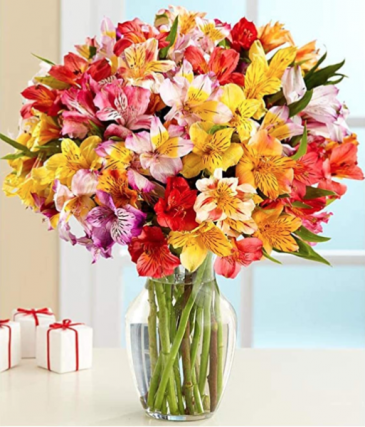 Lasting Peruvian Lily  Vase