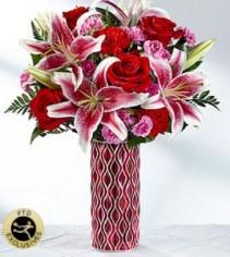 Lasting Romance Bouquet  Fresh Arrangement