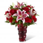 Lasting Romance Valentine Bouquet