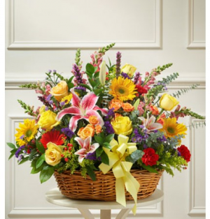 Laughter and Cheer Basket Large in Sunrise, FL | FLORIST24HRS.COM