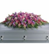 Laveda Tribute Casket Spray SY108