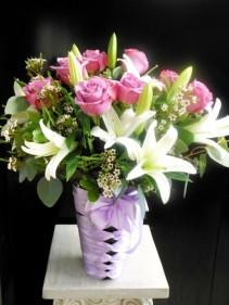 Lavenda rose with Lily EN-30