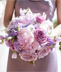 Lavendar colours are stunning for Bouquets A Brides Bouquet.....Can be made smaller for your girls