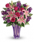 Lavender Luxurious Vased Arrangements