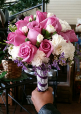 Lavendar Romance Wedding Bouquet