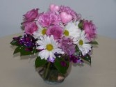 Lavender and Daisies Bubble Bowl
