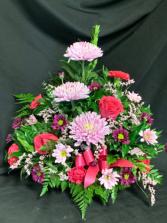 Lavender and Hot Pink Arrangement