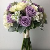 Lavender and White Bouquet Bridal or Brides Maid Bouquet