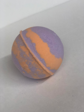 Lavender Apricot Bath Bomb