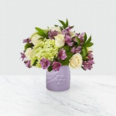 Lavender Bliss Ceramic Vase