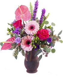 Lavender Blush Floral Design