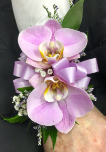 Lavender Butterfly Orchid Corsage Corsage