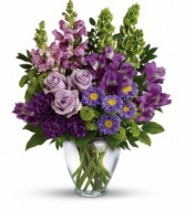 Lavender Charm Bouquet by Enchanted Florist