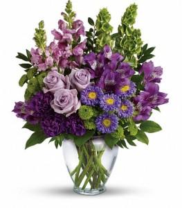 Lavender Charm Bouquet by Enchanted Florist