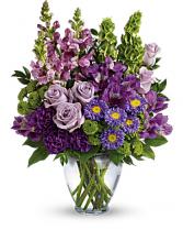Lavender Charm Mix of Seasonal Lavender Flowera