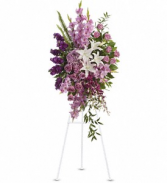Lavender Countryside Sympathy Easel