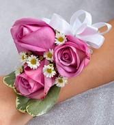 Lavender Love Wrist Corsage