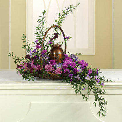 Lavender Dawn Urn Design