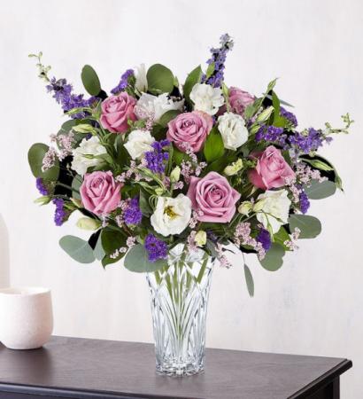 Lavender Dreams Marquis Vase
