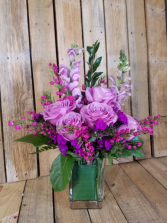Lavender elegance Fresh arrangement