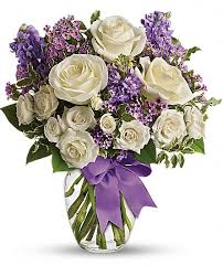 Lavender Enchantment Sympathy Flowers