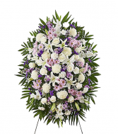 Lavender Expression Standing Wreath