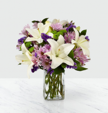 Lavender Fields Vase Arrangement