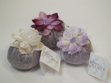 Lavender Flower Ball Sachet