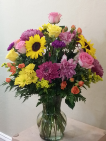 Lavender Gardens Vase