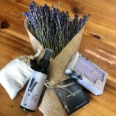 Lavender Gift Box Gift Basket