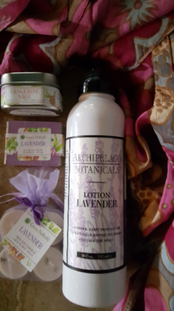Lavender Gift Set Gift Items