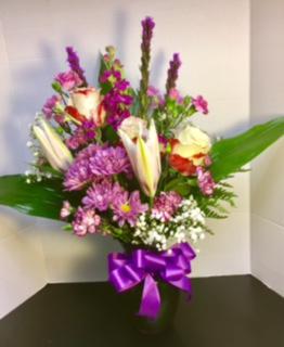 Lavender Glamour Fragrant Floral Beauty