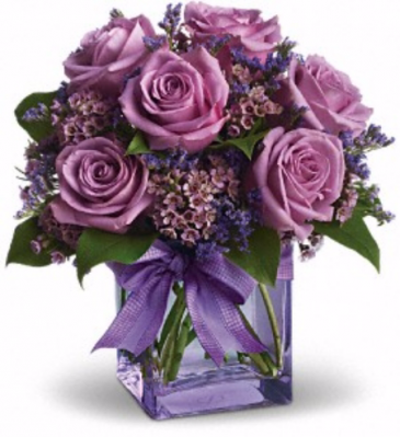 Lavender Joy Vase Arrangement