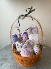 Lavender Keep Me Cozy Gift Basket
