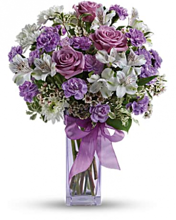 Lavender Laughter Bouquet Bouquet