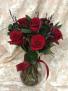 Berry Lovely Bouquet Vased Arrangement