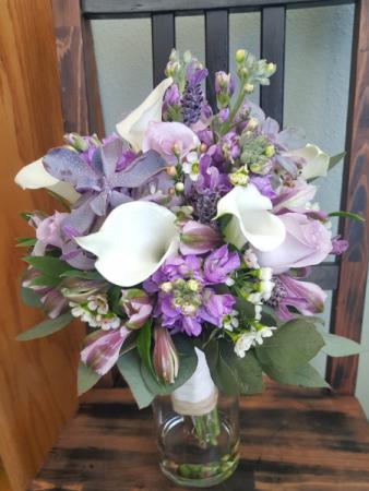 Lavender Love  Bridal Bouquet