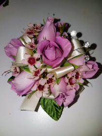Lavender love corsage