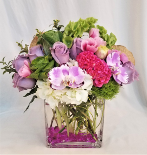 Lavender Love Floral Arrangement in Boca Raton, FL | Flowers of Boca