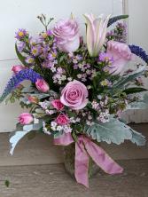 Lavender Love Fresh Arrangement