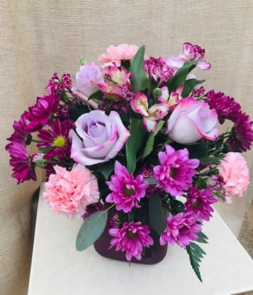 Lavender Love Fresh Vase Arrangement
