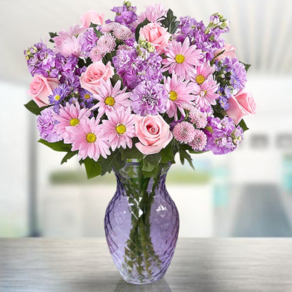 Lavender Xplosion Bouquet