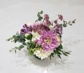 Lavender Love Vase Arrangement