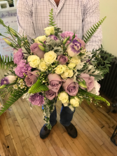 Lavender Love  Wedding Bouquet