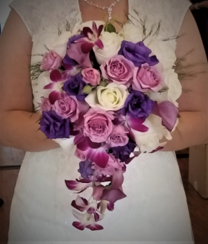 Lavender Loveliness Bouquet in Boca Raton, FL | Flowers of Boca