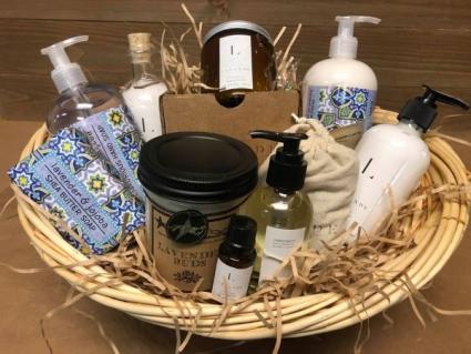 Lavender Lover Gift Basket