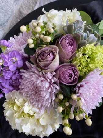 Lavender Luxe Flower Arrangement