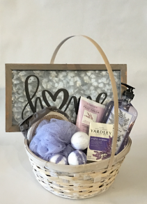 Lavender Luxury Mother's Day Bath Basket